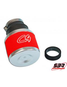 Filtre Air C4 Rouge Carbu 19-24mm