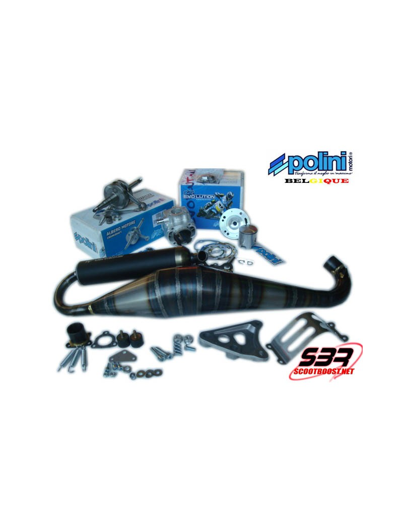 Pack cylindre Polini Big Evolution 70cc Piaggio Zip